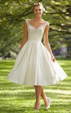 tea-length-gown